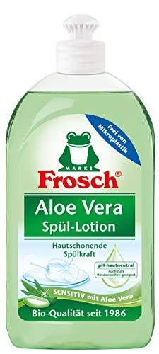 Frosch Aloe Vera Spül-Lotion, sensitives Handgeschirrspülmittel, sehr gute Hautverträglichkeit, 500 ml
