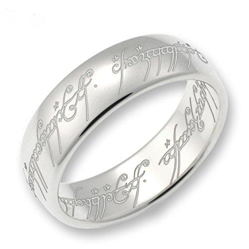 Herr der Ringe Schmuck by Schumann Design Der eine Ring 925 Sterling Silber Rg 62 3000-062
