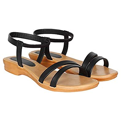 Footshez Women's Sandals with Ankle