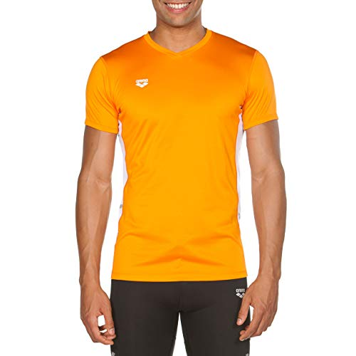Arena M Run S/S Mesh Camiseta Malla para Correr para Hombre con...