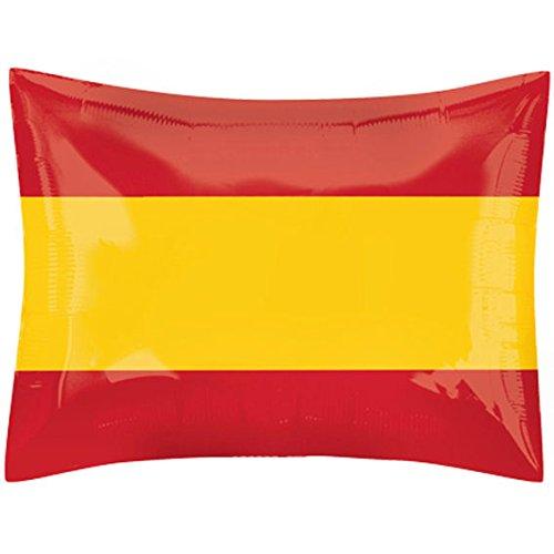 GLOBO Bandera España Bandera España rectangular aprox. 53x 41cm (Globo Gas Adecuado)