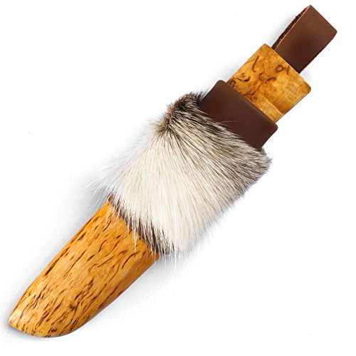 H. Roselli R121 Großvaters Messer mit Einer besonderen Scheide Jagd Häuten, Carbonstahl