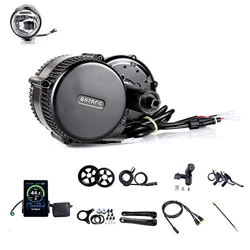 BAFANG BBS01B 36V 350W Mid Drive Kit Electric Bike Conversion Kit Mid Motor Kit Accessory Kit Ebike Components Kit for Mountain Bike Road Bike