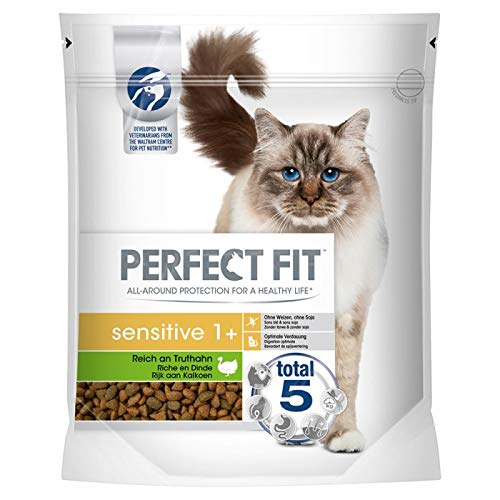Perfect fit sensitive kalkoen kattenvoer 1,4 KG