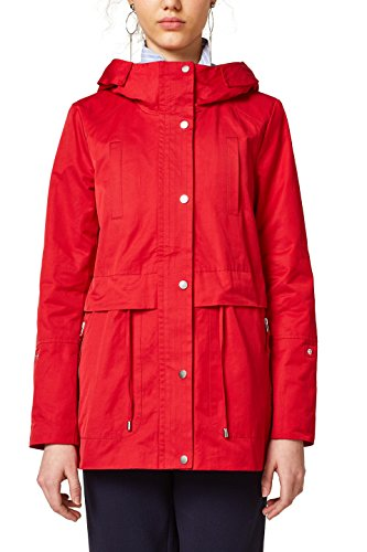 edc by ESPRIT Damen 028CC1G006 Jacke, Rot (Red 630), Small