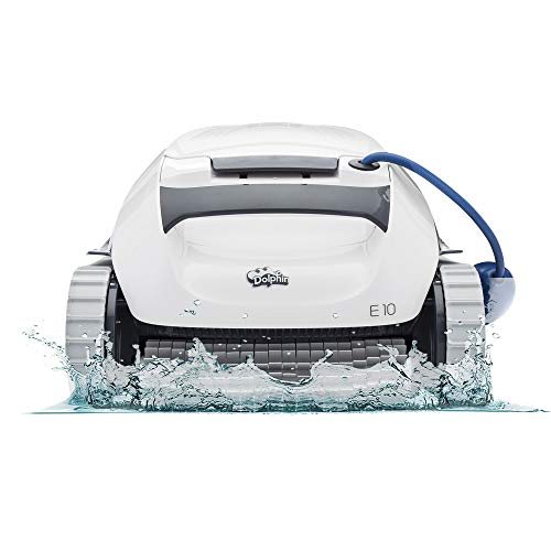 DOLPHIN E10 Automatic Robotic Pool Cleaner with...