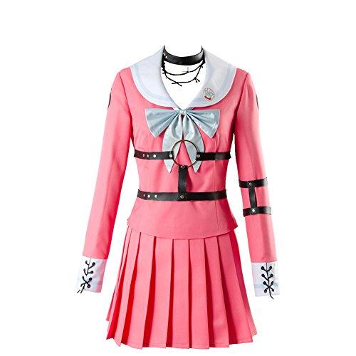 Killing Harmony-Iruma MIU Kleid Cosplay Kostüm Matrosenanzug Japanische High School Uniform Set Damen M