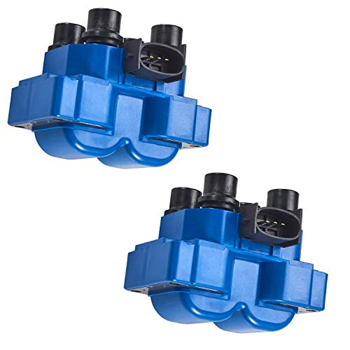 ENA Ignition Coil Pack Set of 2 Compatible with Ford Lincoln Mercury Mazda V8...