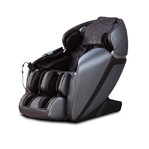 [NEW2021] Full-Body L-Track Kahuna Massage Chair with Spot Target Voice Recongnition Massage Chair - LM-7000 (Brown)