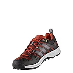 adidas Men's Galaxy Trail M sneaker, light red / black, 44 EU