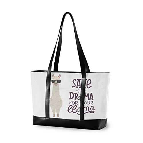 LZXO Laptop-Tasche, (15,6 Zoll), süße Katzen- und Geldgeschenke, große Schultertasche mit Reißverschluss, leicht,Handtaschen