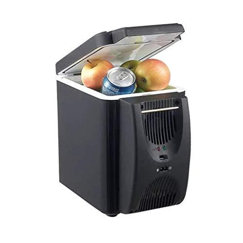 Hyy-yy Refrigeradores de interior for vehículos 12V mini portátil portátil Nevera Refrigerador portátil congelador de refrigerador y calentador pequeña nevera