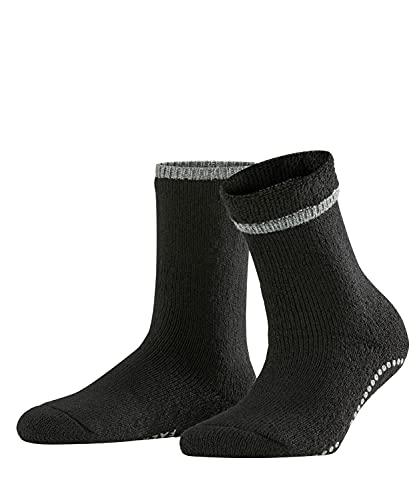 FALKE Damen Hausschuh-Socken Cuddle Pads, Baumwolle Wolle, 1 Paar, Schwarz (Black 3009), 39-42 (UK 5.5-8 Ι US 8-10.5)