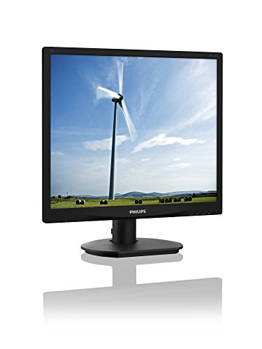 Philips 19S4QAB - 19 Zoll SXGA Monitor (1280x1024, 60 Hz, VGA, DVI) schwarz