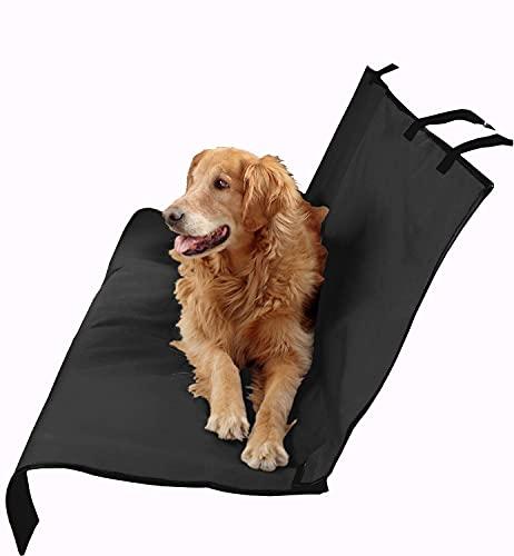 MovilCom® - Cubre Asientos Coche para Mascotas | Accesorios Coche para Perro, Gato | Funda Asiento Perro | Color Negro