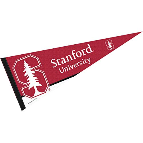 College Flags & Banners Co. Stanford Pennant Full Size Felt