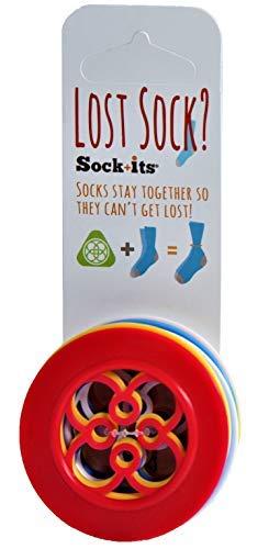 Sock+its Rings for Lost Socks - Sock Keeper - Sorting Rings