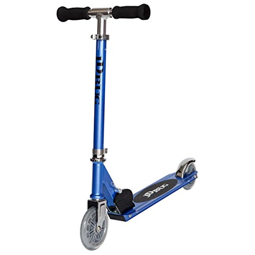 JD Bug Junior-Straßen-Scooter / Roller, MS100, Pastelrosa, Kinder, Junior MS 100, Reflex Blue, 3-8 Jahre
