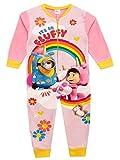 Minions Pijama Entera para niñas Rosa 5-6 Años
