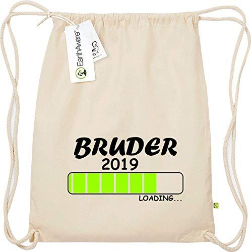 Shirtinstyle Gym Sac Haute Qualité Sac de Sport Chargement Bruder 2019 - Nature, 47 cm x 37 cm