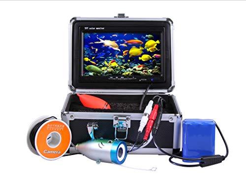 "GAMWATER 7"" Inch 1000tvl Underwater Fishing Video Camera Kit 12 PCS LED Infrared Lamp Lights Video..."