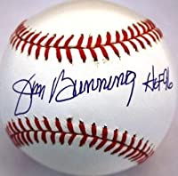 "Autographed Jim Bunning ""Hof '96"" Official Major League baseball with COA"