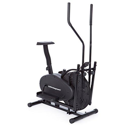Ultrasport Vélo elliptique Noir