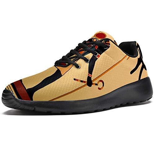 Lorvies Religion des alten Ägypten Sportschuhe für Herren, lässiger Sneaker für Herren, - mehrfarbig - Größe: 43 EU