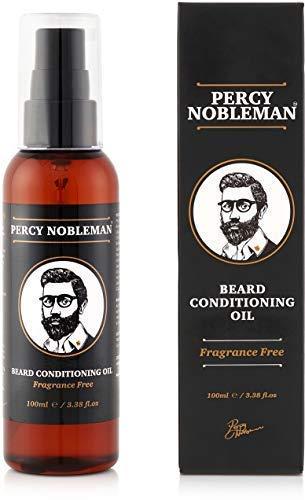 Aceite para barba – Aceite acondicionador de Percy Nobleman especial para...