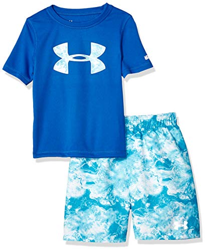 Under Armour Boys' Baby UA Volley Set, Ultra Blue-S19, 18M