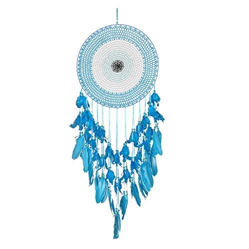 Vxkbiixxcs-o Apanhador de sonhos, macramê com círculo concêntrico para pendurar na parede, apanhador de sonhos, decoração boho feita à mão