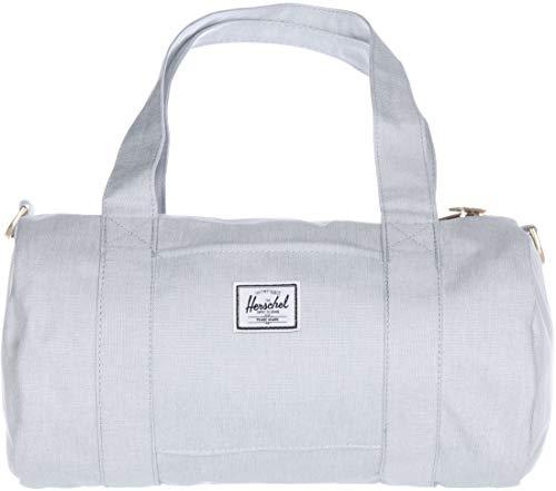 Herschel Unisex-Adult Sutton Duffle Bag, Ballad Blue Pastel Crosshatch, Mini 7.0L