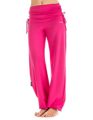 Winshape Damen Trainingshose WH1 Fitness Freizeit Sport Yoga Pilates, Pink, XL