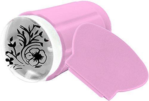 Jelly Kit Stamper ~ ~ Rose ~ ~ (Tampon et Grattoir) : encreur ~ vous pouvez par la, dos ouvert du tampon exactement Voir où vous tampons –. Transparent