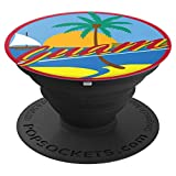 Guam Seal Graphic Design Dope Inspired Christmas Gift PopSockets Grip and Stand for Phones and Tablets