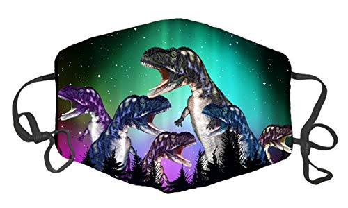 dinosaur face mask