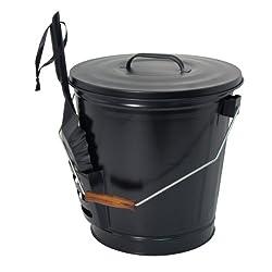 top 10 ash shovel lowes Panacea 15343 Ash bucket with shovel, black