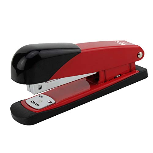 Dohe - Grapadora metálica mediana - Rojo