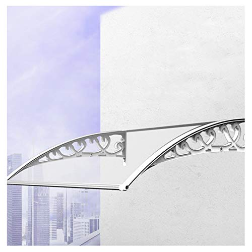 YF-Barstool Außentür Regen Baldachin mehrere Größen Fenster Baldachin Markise, Sun Rain Shelter Dach Baldachin Sonnenschutz UV-Schutz Schattenabdeckung