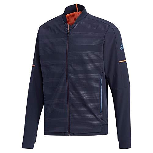 adidas Men's Mcode Tennis Jacket, Legend Ink, X-Large