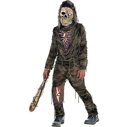 AMSCAN Creepy Zombie Halloween Costume for Boys, Medium, with Included Accessories