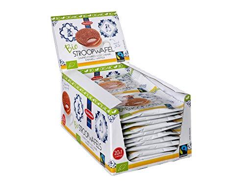 Stroopwafels Daelmans Organisch Bio-Honig - 20 x 1 Einzelpacks
