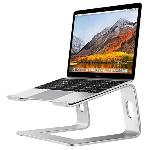 Desire2 Laptopständer Computer Laptop Ständer Riser Stand Halterung Stand für Schreibtisch Aluminium Belüftet Kompatibel mit Apple MacBooks Laptops 10