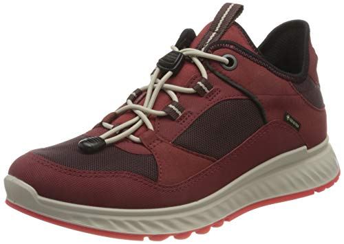 ECCO Damen EXOSTRIDE W SyrahFig SyntheticSyntheti Outdoor Shoe, Rot (Syrah/FIG), 40 EU