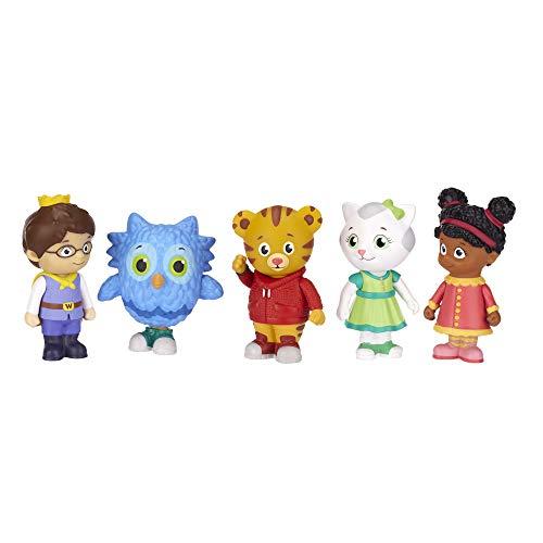 Daniel Tiger's Neighborhood Friends Figures Set, Multicolor (25014-TT)