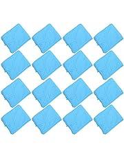 Artibest - Traje de trabajo no tejido, antiaceite, resistente al polvo, impermeable, 50 unidades