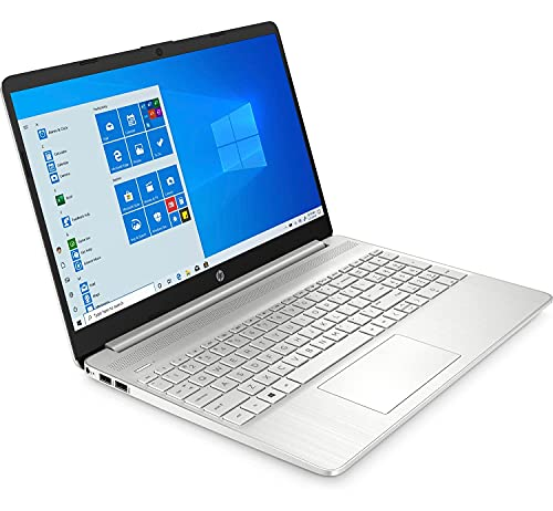 Portátil HP Laptop 15s-fq1119ns, i3-1005G1 (1.2GHz), Pantalla 15.6' HD LED, 8GB RAM (2x4GB), SSD 256GB PCIe NVME, WiFi, Bluetooth, Webcam, Windows 10 Home S, Garantía 2 años (Español (Reacondicionado)