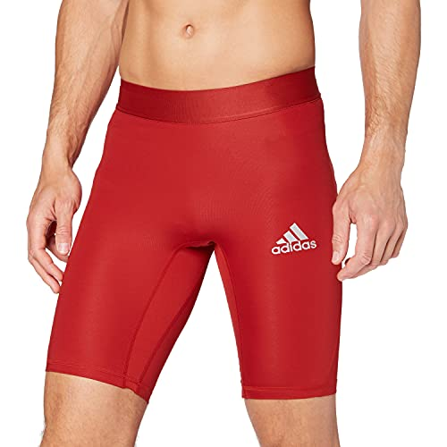 adidas Ask SPRT St M Leggings Sportivi, Uomo, Power Red, S