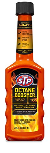 STP Octane Booster, Fuel Intake System Cleaner, Bottles, 5.25 Fl Oz, 78574