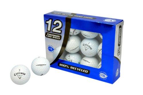 Second Chance Golfbälle 12 Callaway Warbird Lake A-Qualität, weiß, PRE-12-CAL-WARBIRD